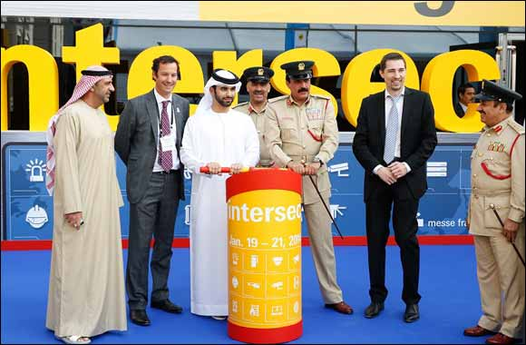 H.H. Sheikh Mansoor Bin Mohammed Inaugurates 16th Edition Of Intersec 2014