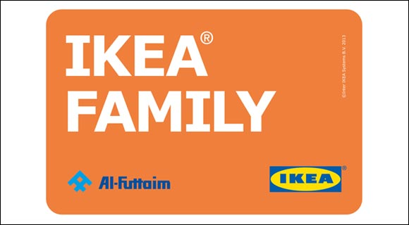 ikea introduces family card to the uae. Black Bedroom Furniture Sets. Home Design Ideas