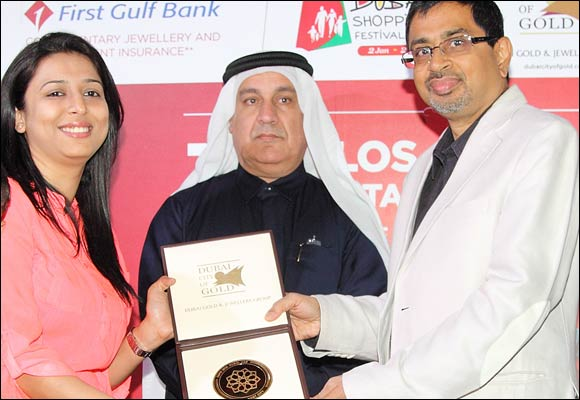 Malabar Gold and Diamonds creates highest number of  winners at the Dubai Shopping Festival 2014