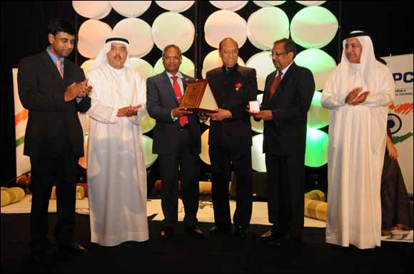 IBPC, Dubai confers golden award on V.O.Sebastian
