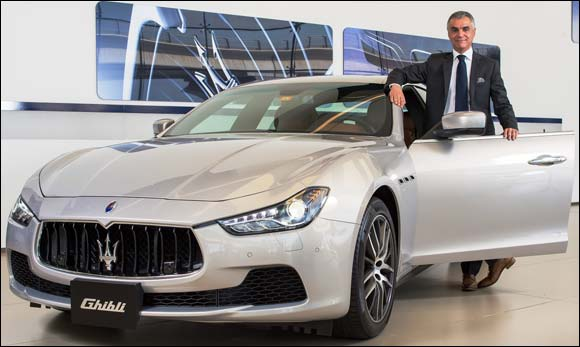 Maserati 2013 uae sales up 44% at al Tayer Motors