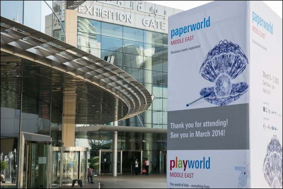 Paperworld Middle East 2014 set to open 10% larger than previous edition