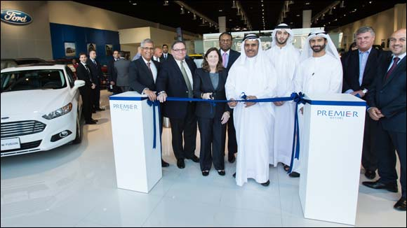 Premier Motors opens new Ford and Lincoln showroom in Mussafah