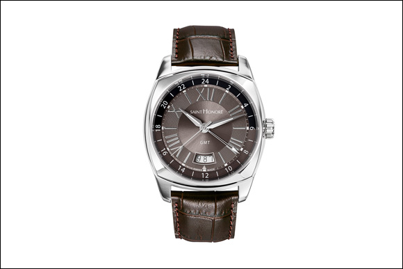Exclusive Lutecia GMT Version Designed For Today's Globetrotting Lifestyles From Saint Honore