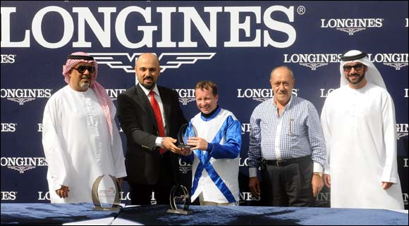 Longines provides a great conclusion to Sharjah's equestrian season with the Sharjah Ruler's Cup