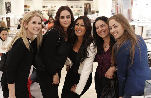 Lebanese Actress Nadine El Rassi Celebrates Mother's Day with Paris Gallery Customers at Abu Dhabi