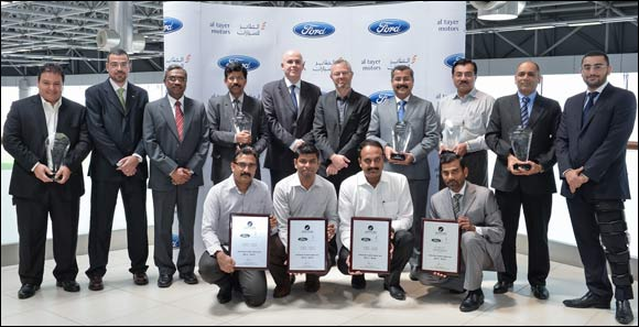 Al Tayer Motors Workshops Top Ford's Service Excellence Certification in the Middle East