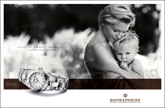 Baume & Mercier celebrates life's special moments with a new AD campaign and a Social Media Competition