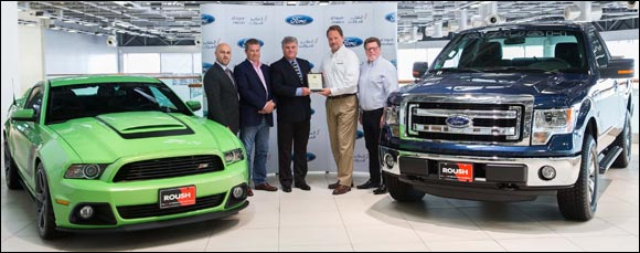 Al Tayer Motors ranked among World's Top Roush Performance Dealers