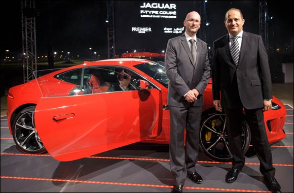 Al Tayer Motors and Premier Motors First to Launch F-TYPE Coupé in Middle East