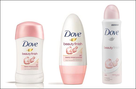 Go Sleeveless with Dove's Beauty Finish