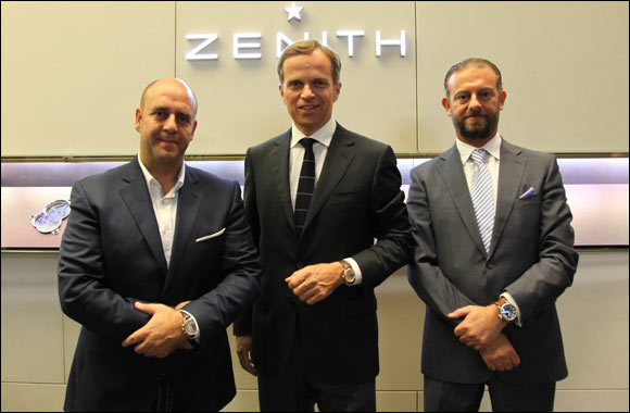 Zenith watches finds its newest Friend of the Brand in automotive authority Nadim Mehanna