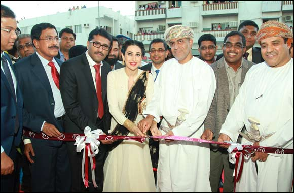 Malabar Gold & Diamonds opens its 115th outlet in Oman