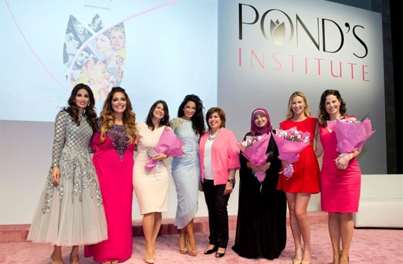 Pond's Celebrates Femininity and Women in the Region