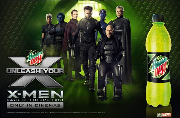 Mountain Dew® Joins X-MEN: Days of future past universe with official partnership