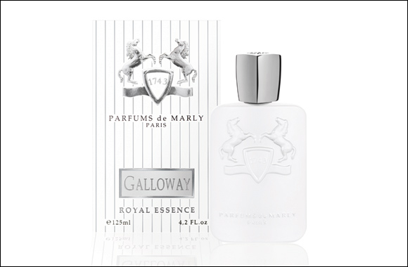 Parfums de Marly latest fragrant offering is the regal GALLOWAY