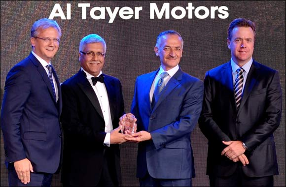 Al Tayer Motors caps successful year for Jaguar Land Rover with 'Dealer of the Year 2013-14' Combined Sales for British brands up 52% in 2013-14 over 2012-13