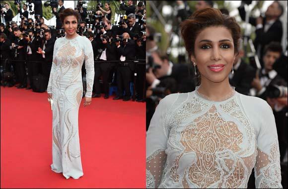 Arwa L'Oreal Paris spokesperson graces the 67th Cannes Film Festival Red Carpet