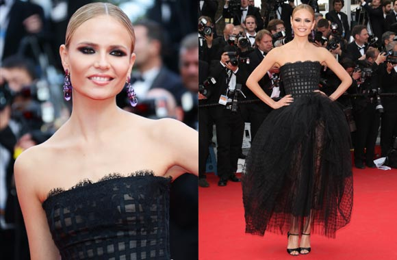 L'Oreal Paris Spokesperson Nathasha Poly lights up the Red Carpet at the 67th Cannes Film Festival
