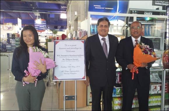 Consul General of Royal Thai Consulate in Dubai visits Al Maya Supermarket