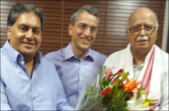 Kamal Vachani meets shri L.K. Advani