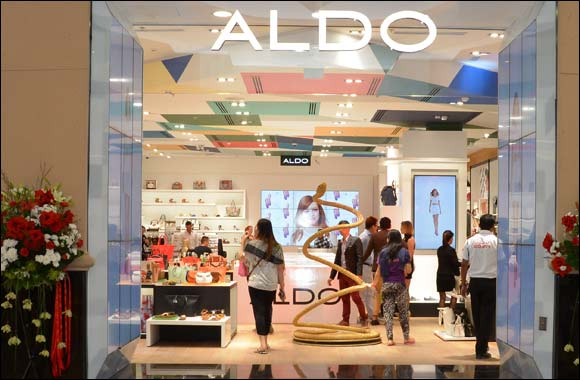 Aldo unveils a bright new space at Mall of the Emirates