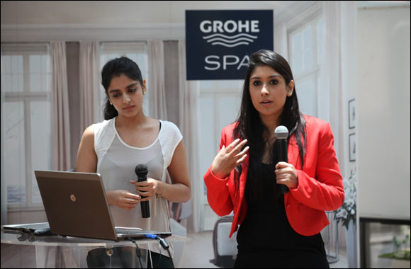 American University in Dubai students recognized by international brand GROHE for their design talents