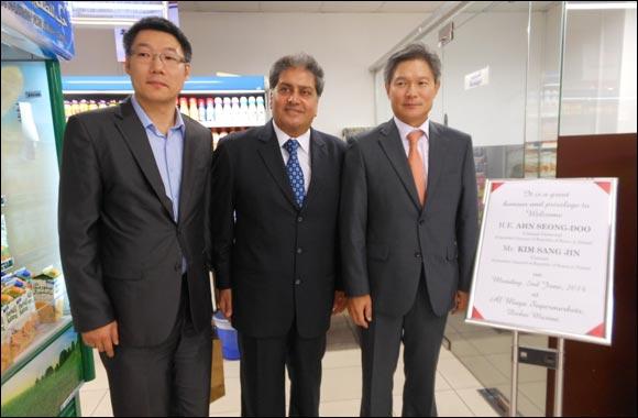 Consul General of Republic of Korea visits Al Maya Supermarket