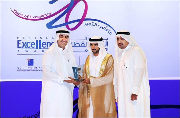 Intercoil International honored with Dubai Human Development Appreciation Award