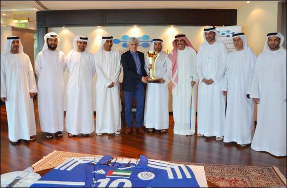 Dubai Silicon Oasis Celebrates Victory of Al Nasr Club at GCC Clubs Championship 2014