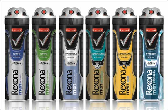 Rexona Revamps Range - World's No. 1 Deodorant Brand Revamps Their Range in Gulf