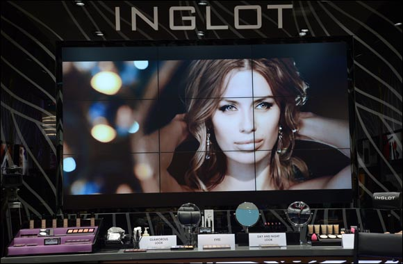 INGLOT Launches 1st Ever New Concept Store in the World at Dubai Mall