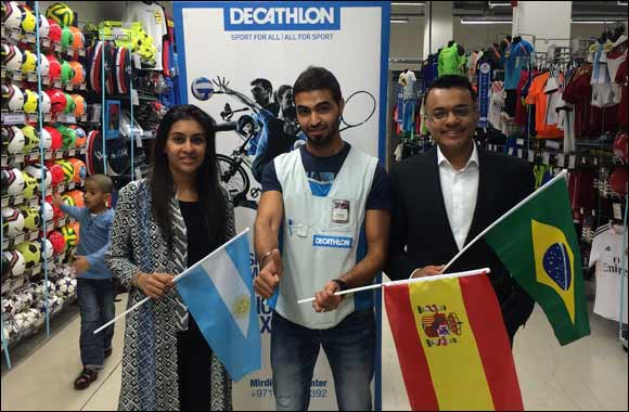 Decathlon rewards one lucky shopper with the prize of a lifetime