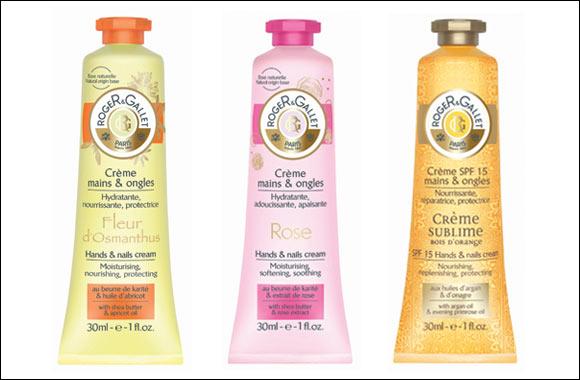 Roger & Gallet Hand & Nail Creams Fleur d'Osmanthus, Rose and Sublime Bois d'Orange