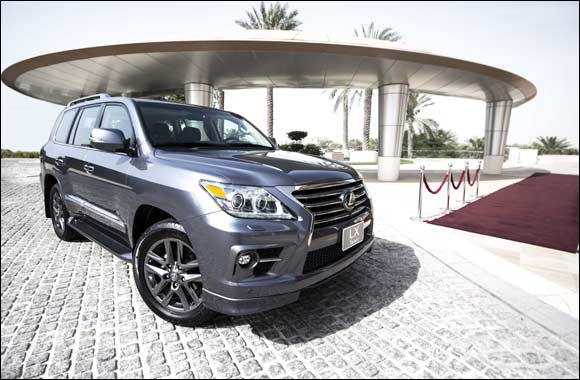 Lexus LX 570 Middle East sales grow by 10% in the first five