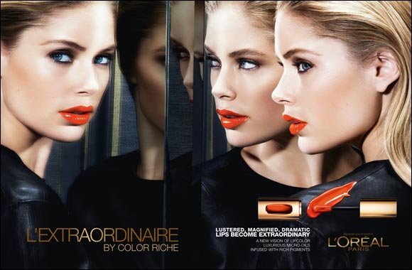 An outstanding lip color revolution begins with the Color Riche Extraordinaire from L'Oreal Paris