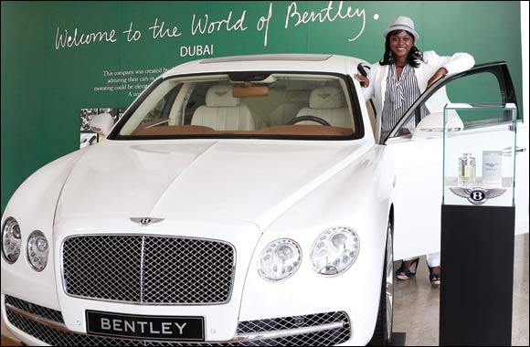 American Lady Wins a Luxurious Bentley Flying Spur at Paris Gallery