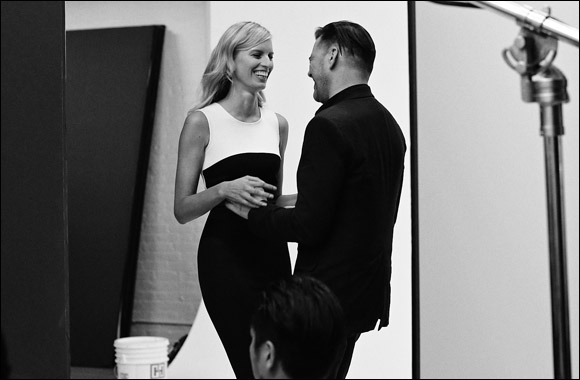 Exclusive behind-the-scenes Featuring Roland Mouret & Karolina Kurkova