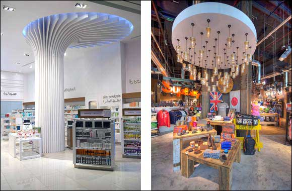 Italdeco completes the fit-out of a 100 retail stores in the UAE