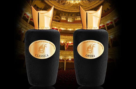 CLASSICA & OPERA, the newest perfumes from the Sospiro collection, launched exclusively at Paris Gallery