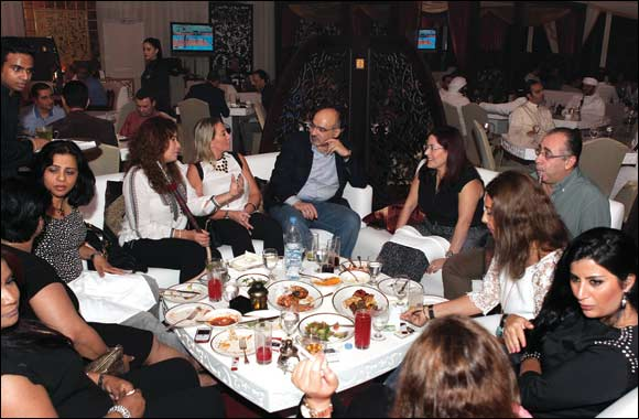 Paris Gallery hosts a Media Suhoor in Dubai