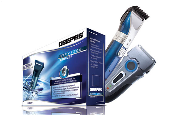 GEEPAS launches 'Stay Cool' range of Male Grooming Products