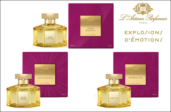 The explosive new collection by L'Artisan Parfumeur