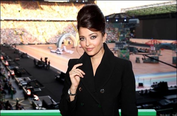 Longines Ambassador of Elegance Aishwarya Rai at the Opening Ceremony of Glasgow 2014