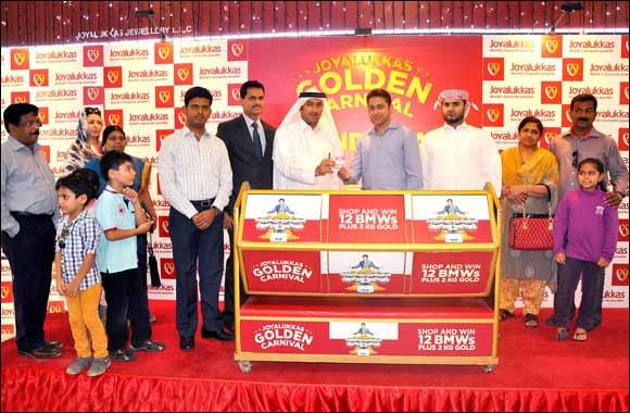 Joyalukkas picks the final lucky winners of the 'Joyalukkas Golden Carnival'