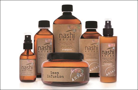 Hair Care Treatment : Madi brings Nashi Argan hair treatment products to Qatar