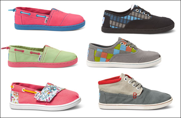 Apparel Group to exclusively distribute TOMS footwear across the Middle East