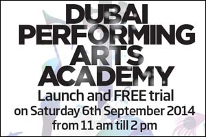 Dubai Performing Arts Academy launches in Conjunction with Fitness First on 6th September 2014