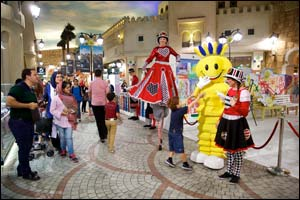 Modhesh Art Project at Ibn Battuta Mall bows out in a riot of colors