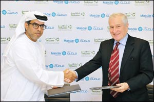 Masdar Institute and Tadweer Sign Research Agreement
